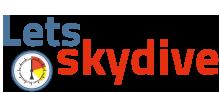 logo lets skydive
