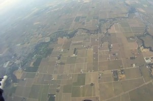 Skydive at the dropzone at Lodi Californie